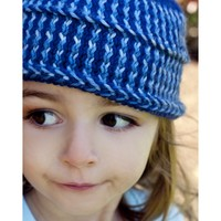 W240 Zig Zag Child's Hat (Free)
