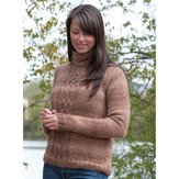 Cascade Yarns W335 Cabled Pullover (Free)