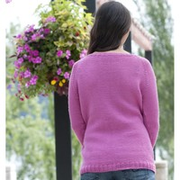 W405 Winter Rose Sweater (Free)