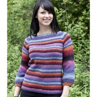 W437 Cable Raglan Sweater (Free)
