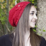 Cascade Yarns W506 The Brenda Hat (Free)