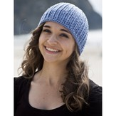 Cascade Yarns W543 Sateen Worsted Arches Hat (Free)