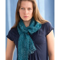 Blue Sapphire Woven Scarf (Free)