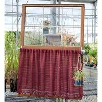 Soft Linen Café Curtain (Free)