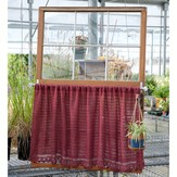 Classic Elite Yarns Soft Linen Café Curtain (Free)