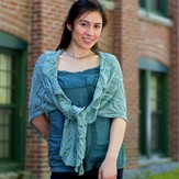 Classic Elite Yarns Dancing Hands Shawl (Free)