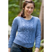 Avenue Cabled Pullover (Free)