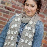 Classic Elite Yarns Pirouette Flower Scarf (Free)