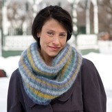 Classic Elite Yarns Giselle Striped Cowl (Free)