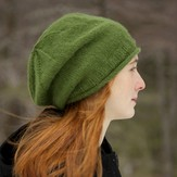 Classic Elite Yarns Fresco Simply Slouchy Hat (Free)
