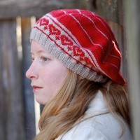 Healthy Heart Hat for Stitch Red (Free)