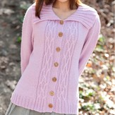 Classic Elite Yarns My Casual Cardigan (Free)