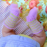 Classic Elite Yarns Baby Knee Socks (Free)