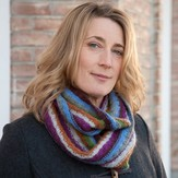 Classic Elite Yarns Fresco Striped Cowl (Free)