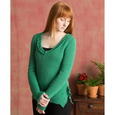 Classic Elite Yarns Ruffle Pullover (Free)