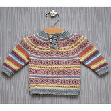 Classic Elite Yarns Colorwork Baby Pullover (Free)