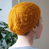 Classic Elite Yarns Diamond Cap (Free)