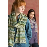 Classic Elite Yarns Bella Lino Drop Stitch Scarf (Free)