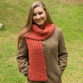 Classic Elite Yarns Fisherman's Rib Scarf (Free)
