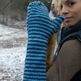 Classic Elite Yarns Striped Mittens (Free)