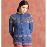 Classic Elite Yarns 1406 Flying Colors Cardigan PDF