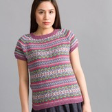 Classic Elite Yarns 1506 Atmospheric Tee PDF