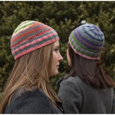 Classic Elite Yarns Easy Striped Hat PDF