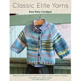 Classic Elite Yarns 9208 Easy Baby Cardigan PDF