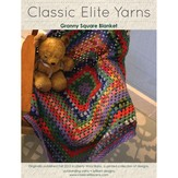 Classic Elite Yarns 9208 Crochet Granny Square Blanket PDF