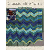 Classic Elite Yarns 9208 Starry Stripes Blanket PDF