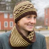 Classic Elite Yarns 9240 Village Hat & Cowl PDF