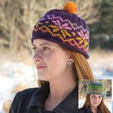 Classic Elite Yarns 9246 Fair Isle Hat PDF