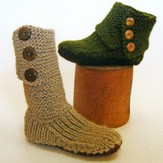 Cocoknits Prairie Boots