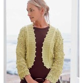 Debbie Bliss Lace & Bobble Jacket PDF
