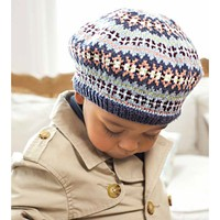 Child's Fair Isle Beret PDF