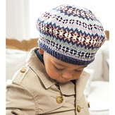 Debbie Bliss Child's Fair Isle Beret PDF