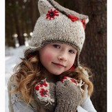 Debbie Bliss Owl Hat and Mittens PDF - Magazine #9