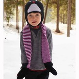 Debbie Bliss Penguin Hat and Scarf PDF - Debbie Bliss Magazine #9
