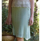 Debbie Bliss Lace Skirt PDF - Magazine #10