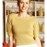 Debbie Bliss Ribbed Batwing Sweater PDF - Magazine #10