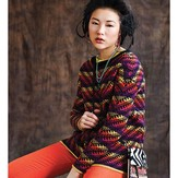 Debbie Bliss Kelim Sweater PDF - Magazine #11