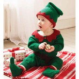 Debbie Bliss Santa's Elf Romper Set PDF - Magazine #11