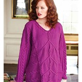 Debbie Bliss Multi Cable Tunic PDF