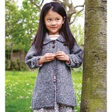 Debbie Bliss Tweed Coat With Back Pleat PDF