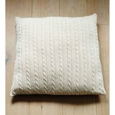 Debbie Bliss Cabled Floor Cushion PDF