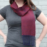 Valley Yarns #65 Four-Shaft Advancing Twill Scarf in 2/10 Merino Tencel PDF