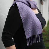 Valley Yarns #69 6-Shaft Scarf in 5/2 Bamboo PDF