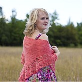 Dream in Color Summer Rose Shawl PDF
