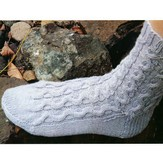 Lisa Ellis Designs Magic Loop Cable Socks