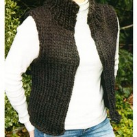 Super Bulky Winter Vest